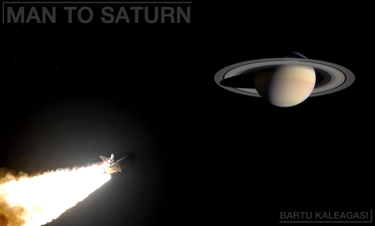 MAN TO SATURN